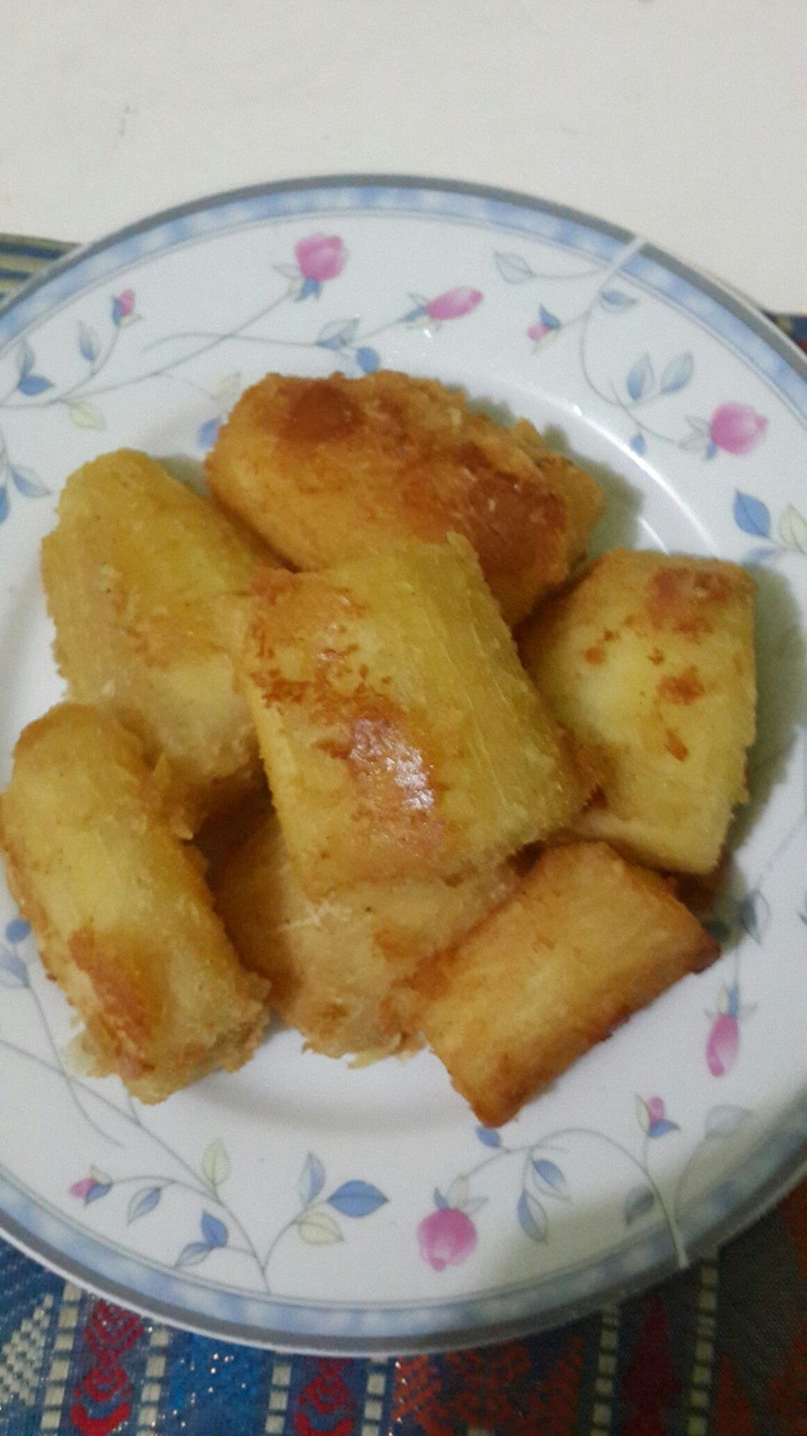 Fried Cassava Delicious And Healthy