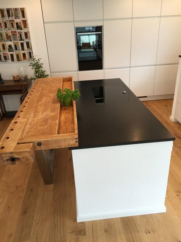 Unsere neue Küche ist fertig. Der Hersteller ist Wellmann