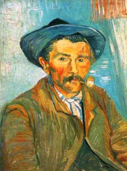 The Smoker - Vincent van Gogh - 1888I admire Vincent Van Gogh