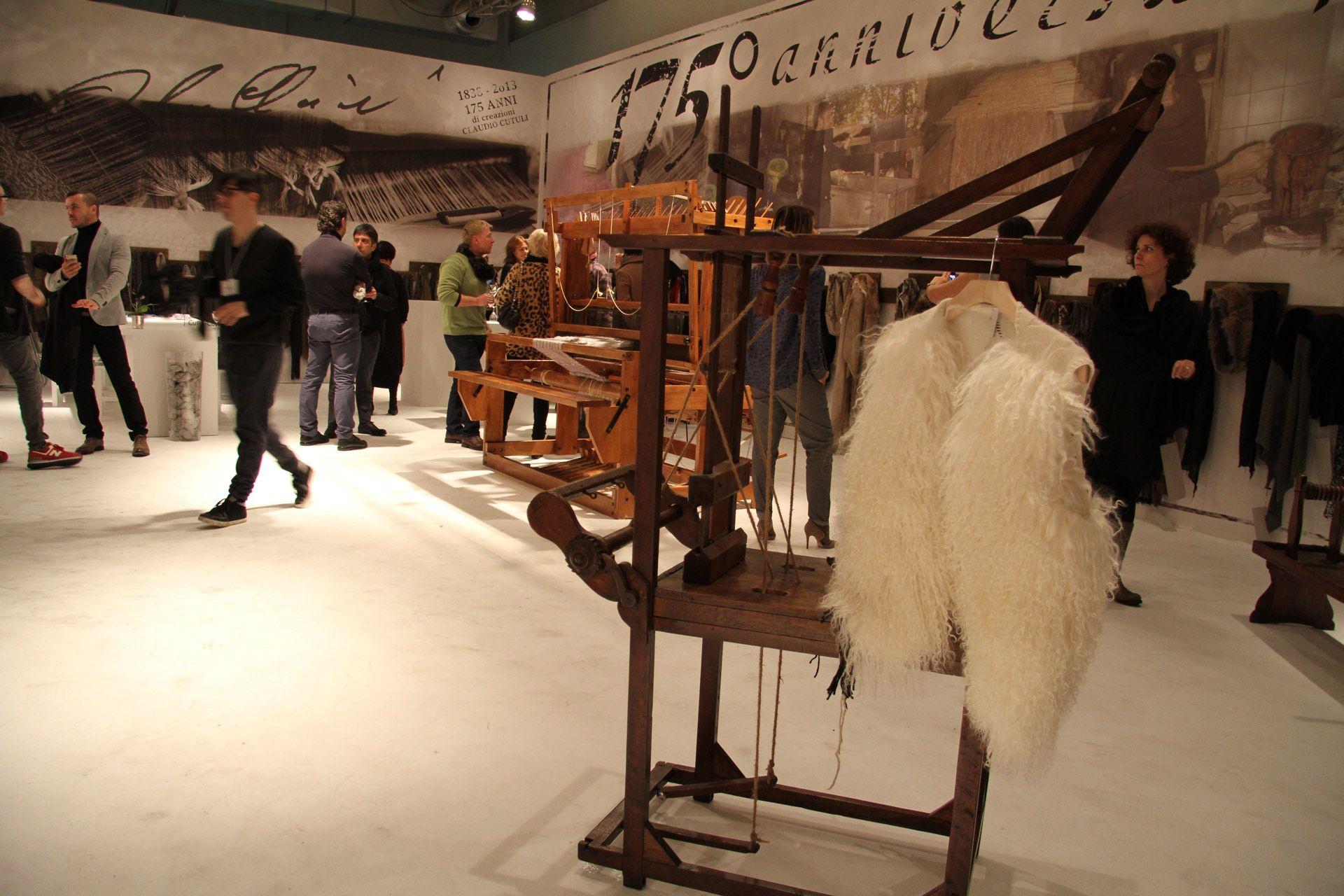 Lo stilista Claudio Cutuli festeggia i 175 anni della sua dinastia di tintori