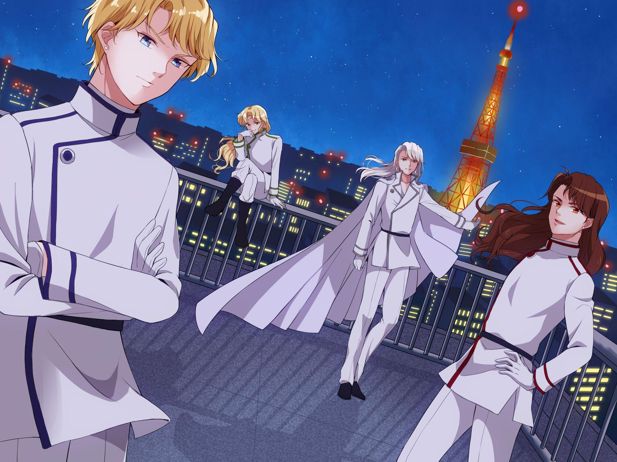 Bishoujo Senshi Sailor Moon, Zoisite, Nephrite, Kunzite