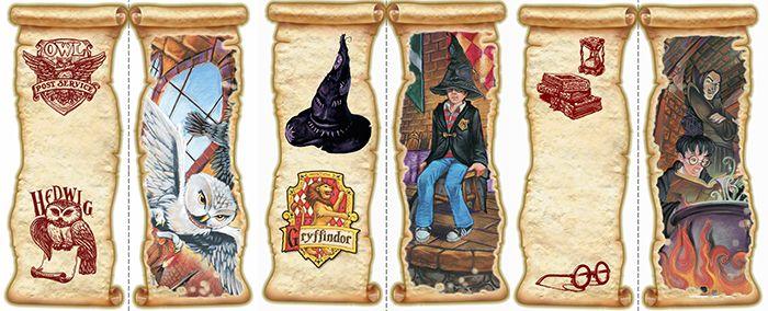 Картинки закладки гарри поттер