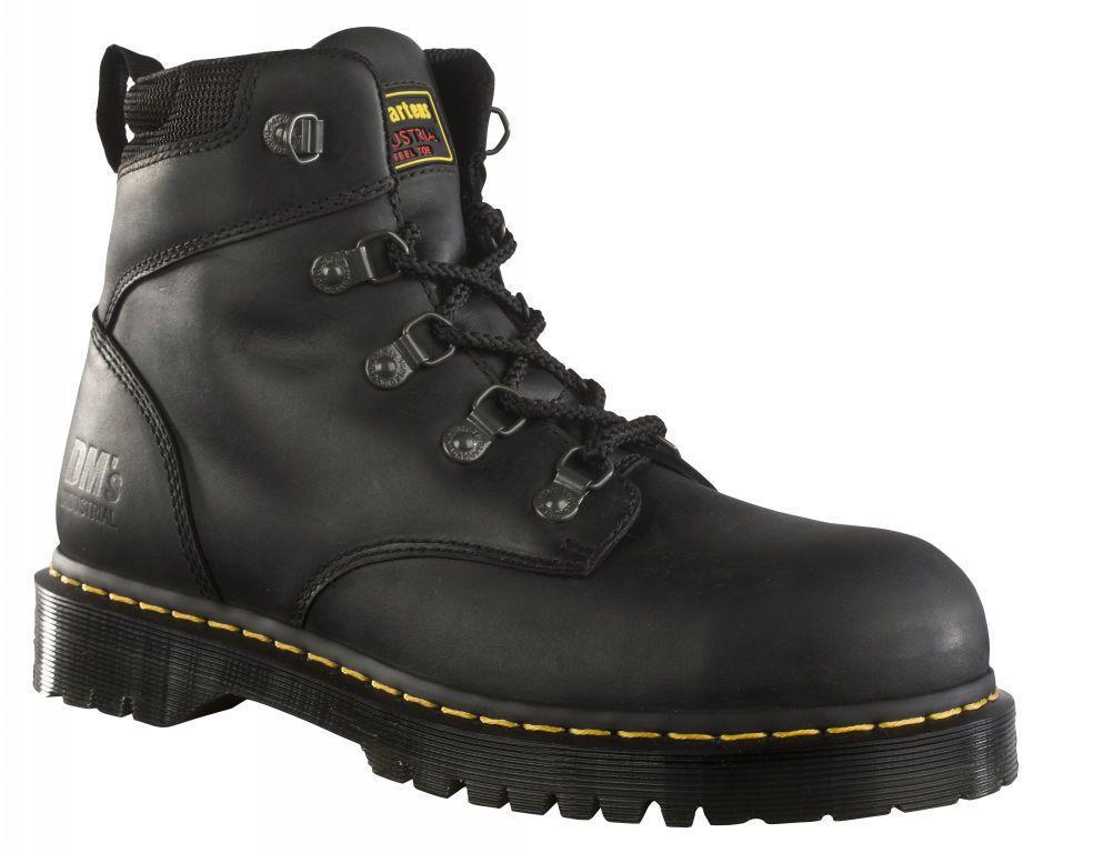 Dr Martens Holkham ST Safety Boot Black | Black work boots