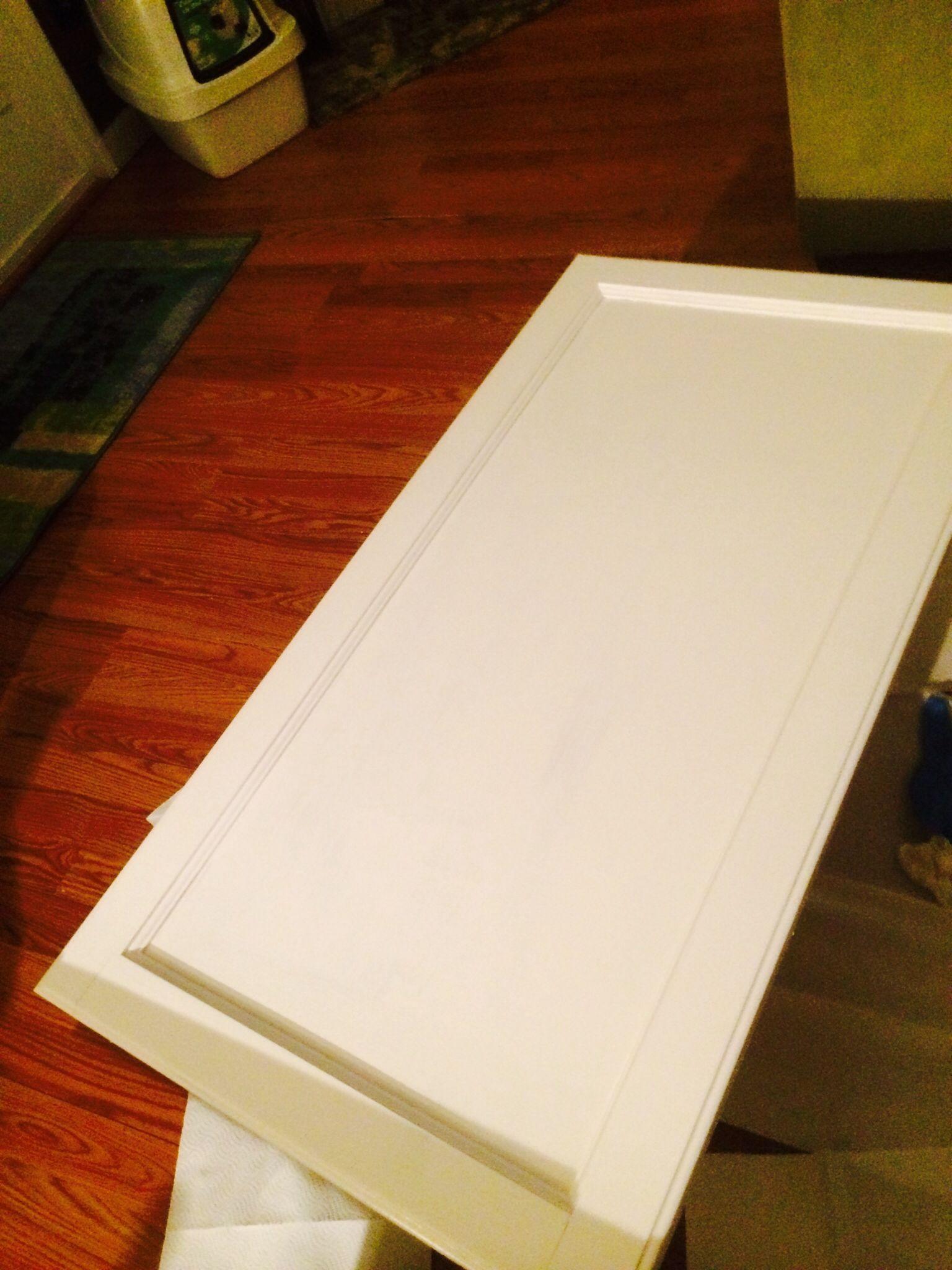 My Doors I Used Valspar In Bistro White