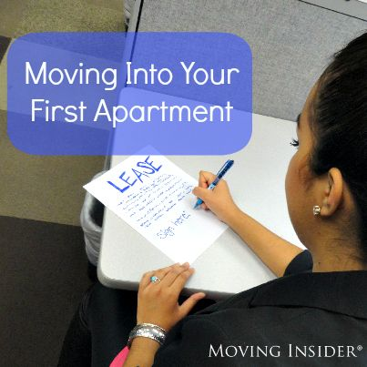 Moving Into Your First Apartment   Moving Insider