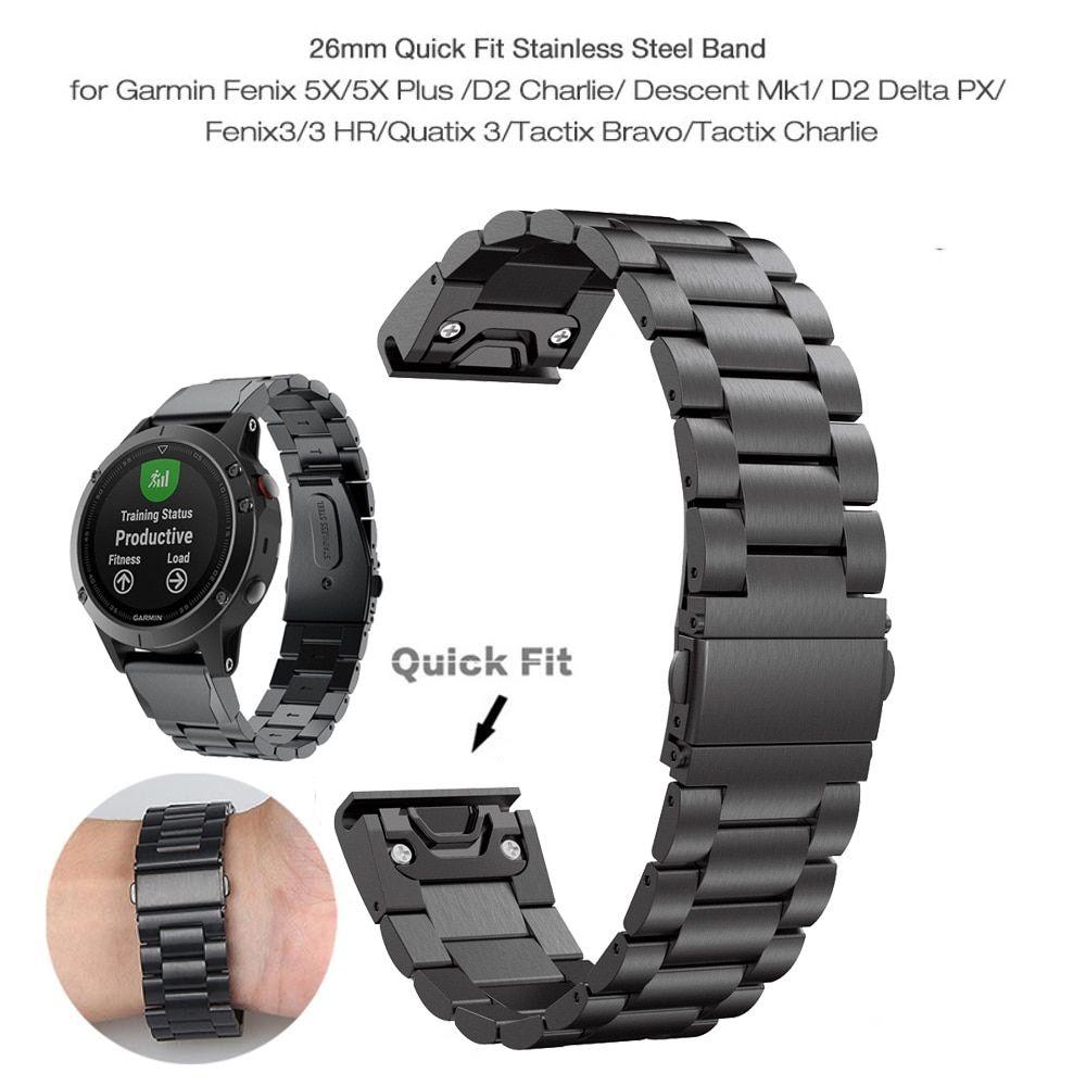 26 22 20mm Watchband Strap For Garmin Fenix 6x 6s 6 5x 5 5s Plus
