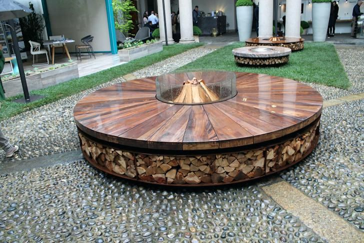 Architecture Attractive Wood Burning Fire Pit Table Metal Throughout Modern Remodel Sweater Organizer For Closet Costco