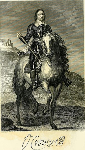Oliver Cromwell 1599 1658 Lord Protector Of England 1857 Mystery Of History Civil War Cromwell