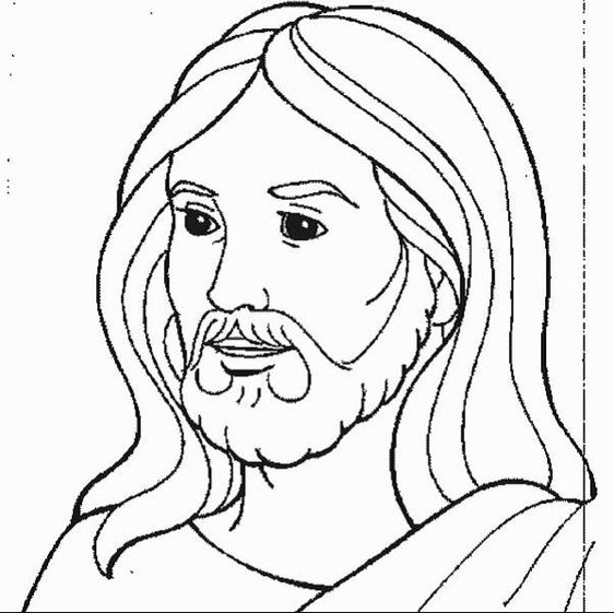 jesus-coloring-page | pencil drawings | Pinterest | String art and ...