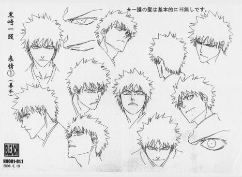 Concept Art Bleach Drawing Bleach Art Bleach Characters