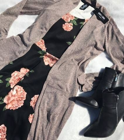 4cad67ecc Angelou Dress in Floral Escapade black by Agnes   Dora paired with a ...