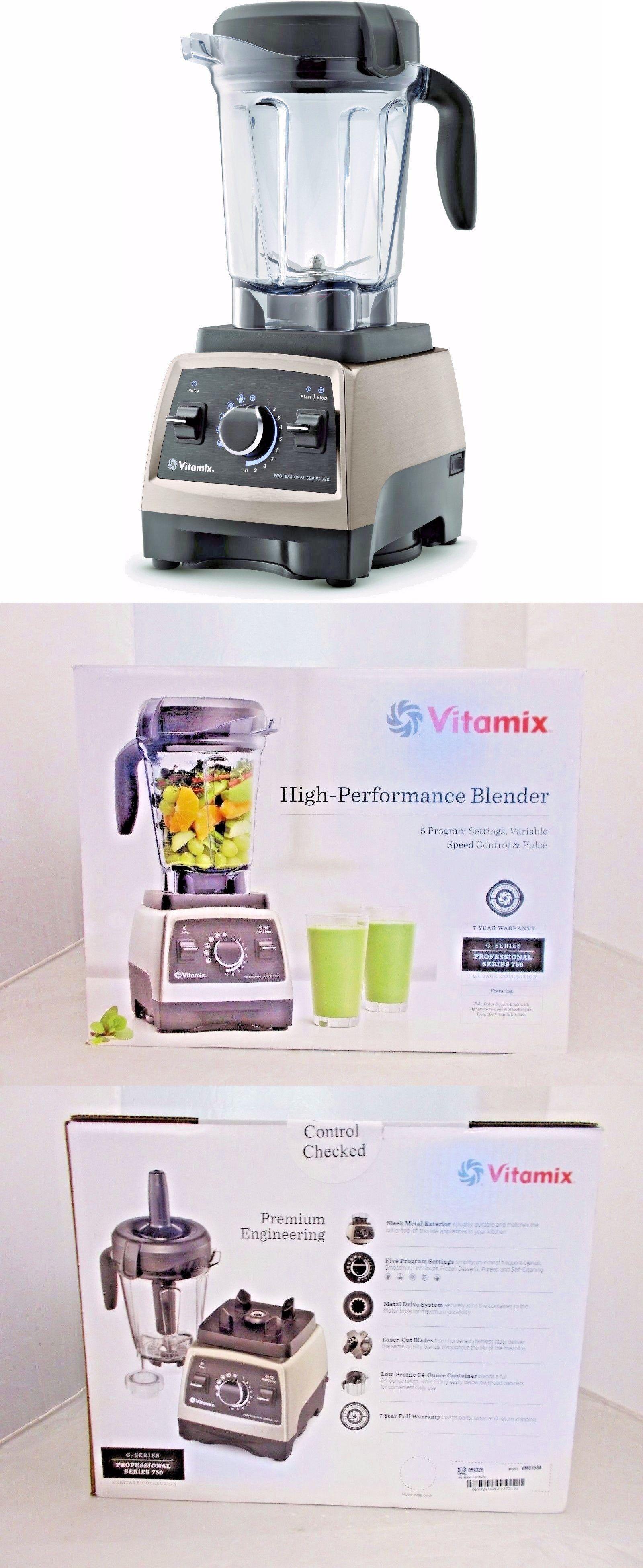 1 Of Brand Vitamix VM0178 S55 10 Speed Personal Blender stainless EUC