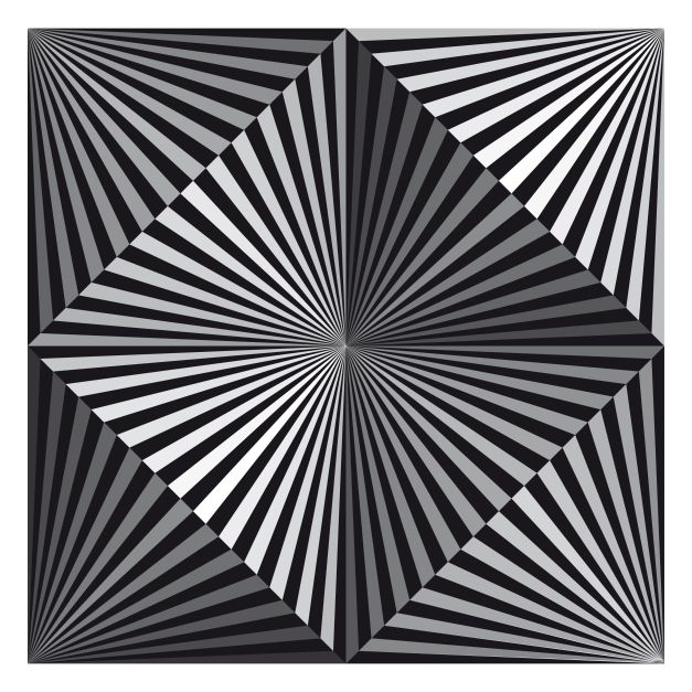 Line Optical Designing : Op art image of the day august inspirational