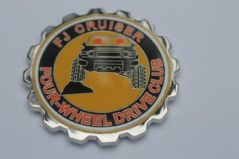 Details About Grille Badge Emblem Fits On Toyota Fj Cruiser Trail Teams Dodge Ram Canada Fj Cruiser Toyota Fj Cruiser Badge