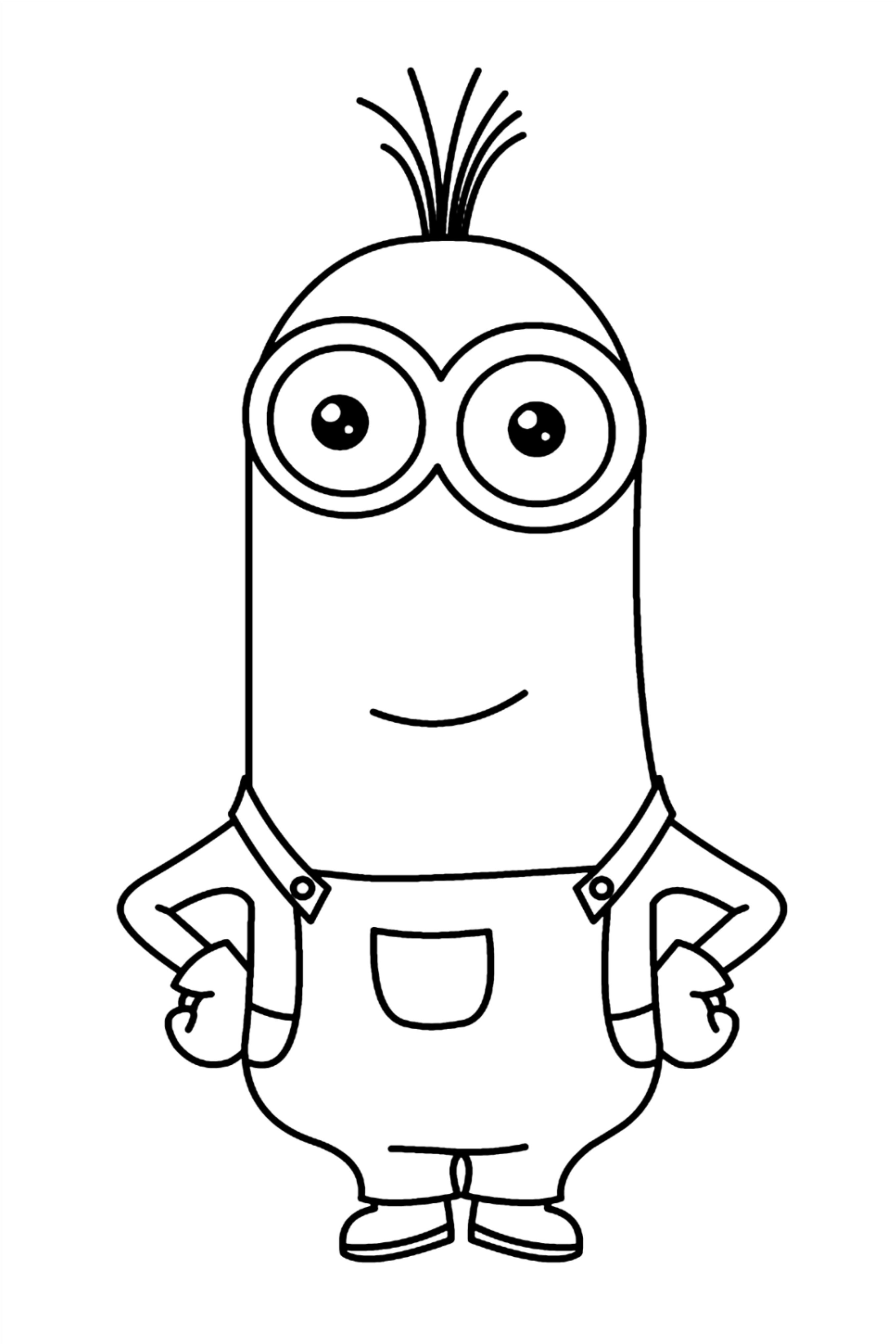 Pin On 100 Minion Coloring Pages For Kids