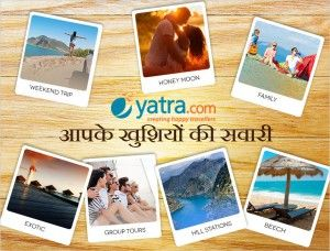 #yatra.com giving you the happiness in travelling. happy travelling by #theroyale
