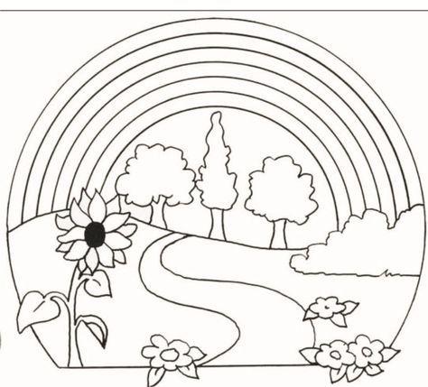 Malvorlagen Regenbogen Ausdrucken 3 Fabric Painting Coloring Books Coloring Pages