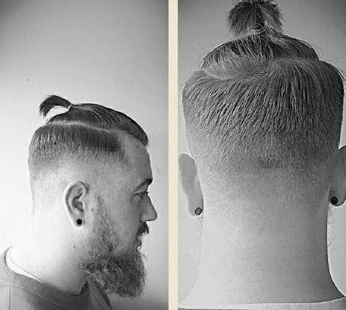 How To Get A Man Bun Hairstyle Guide Man Bun Hairstyle Man Bun Hairstyles Long Hair Styles Men Faded Hair