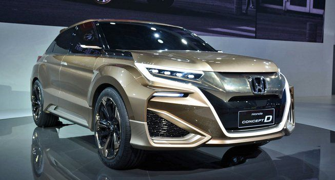 Honda Plans Urv Crossover For China With Images Honda
