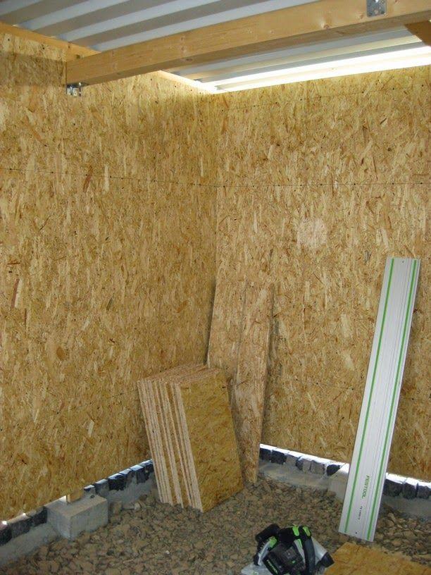 Mario's workshop: house project: carport / shed – part 5
