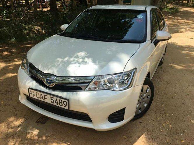 Car Toyota Axio 2015 For Sale Sri Lanka 2015 Brnd New Prsonaly