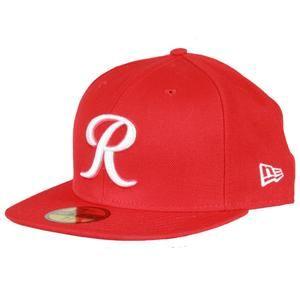 e6467e94e0e 59Fifty R Fitted Cap - Red w White R Fitted Caps
