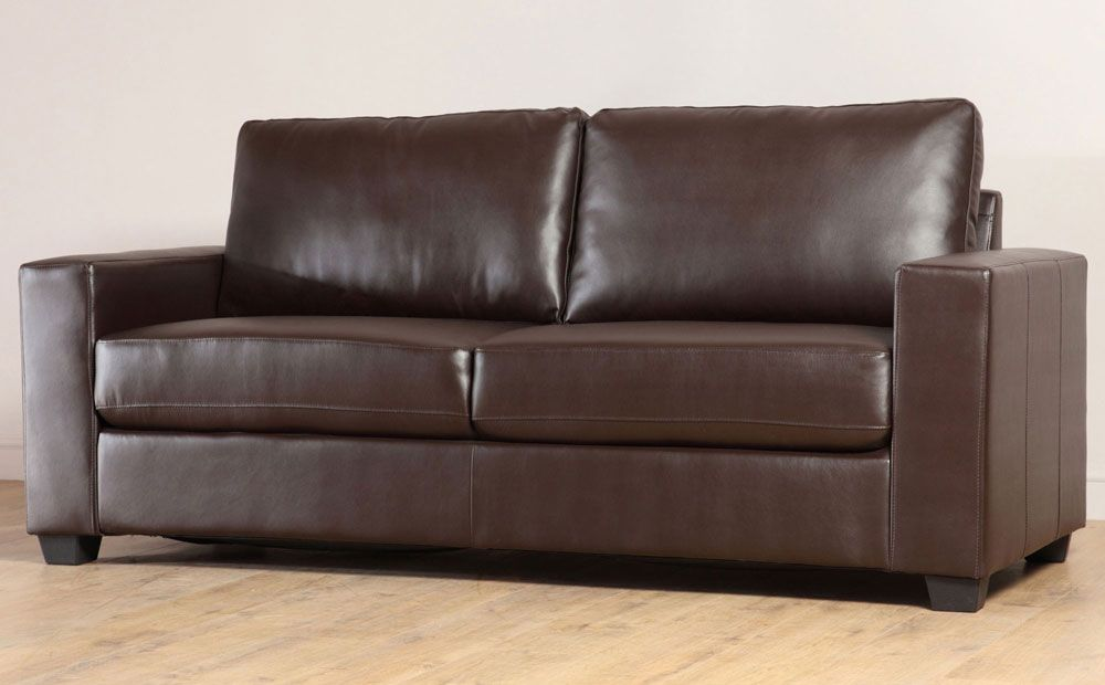 Marvelous Mission Brown Leather Sofa Nice Clean Lines Interior Pdpeps Interior Chair Design Pdpepsorg