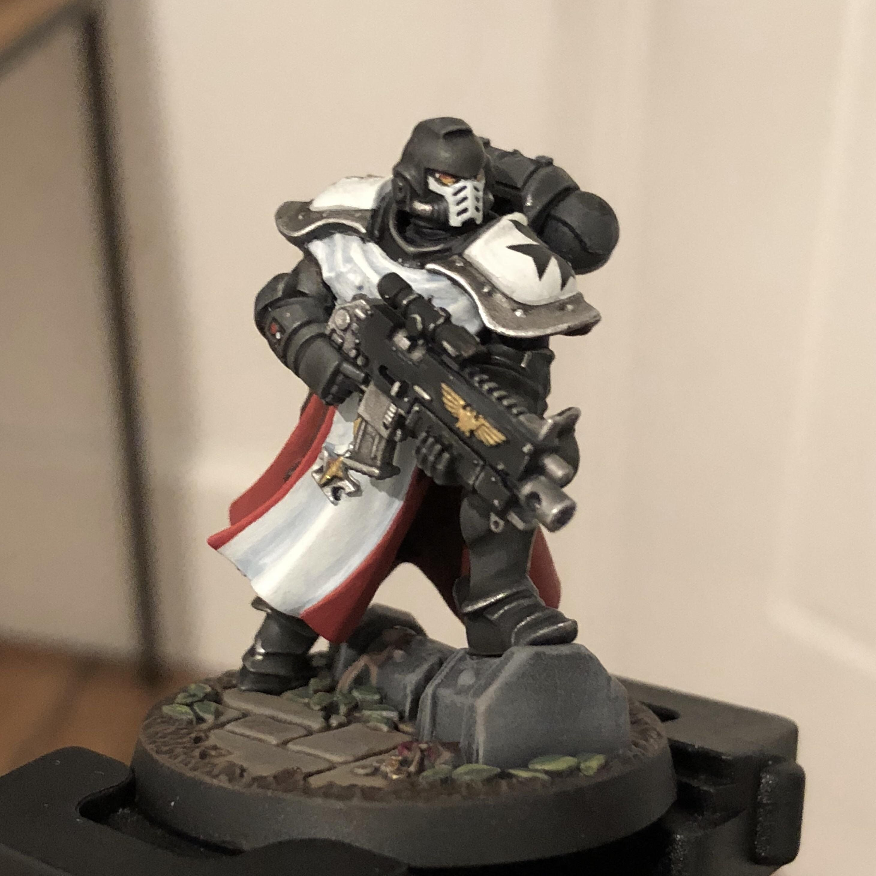 Inspired By This Sub Another Aos Black Templar Kitbash Sword