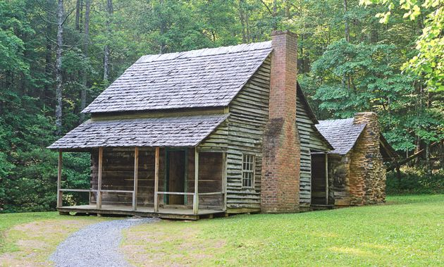 Henry Whitehead cabin in Cades Cove