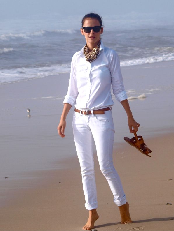if i will try an all white outfit, this is it :)