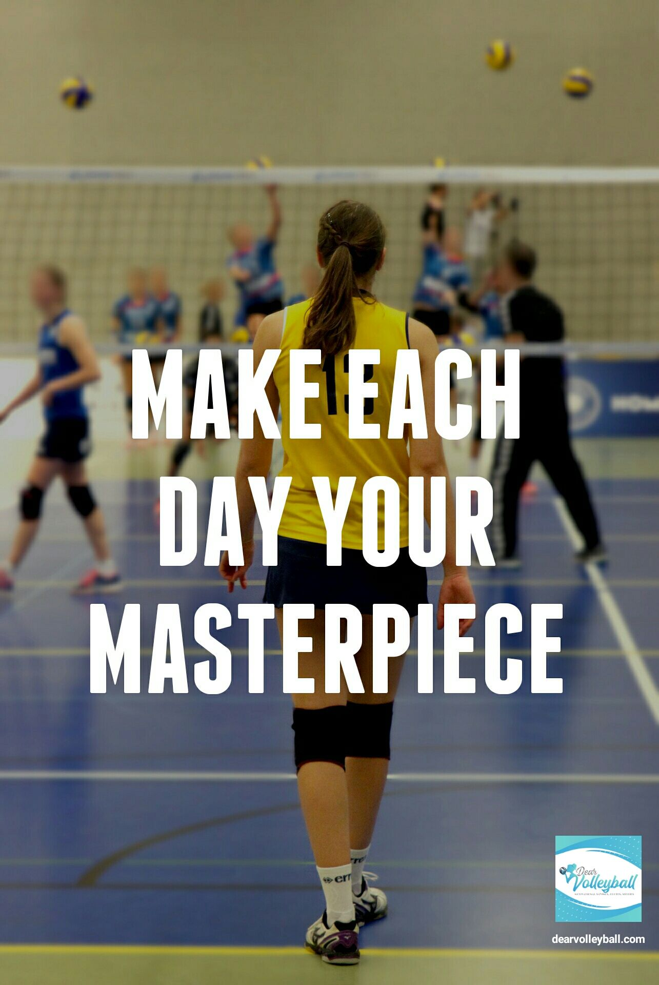 54 Short Inspirational Quotes For A Players Long Term Inspiration Short Inspirational Quotes Volleyball Quotes Inspirational Quotes