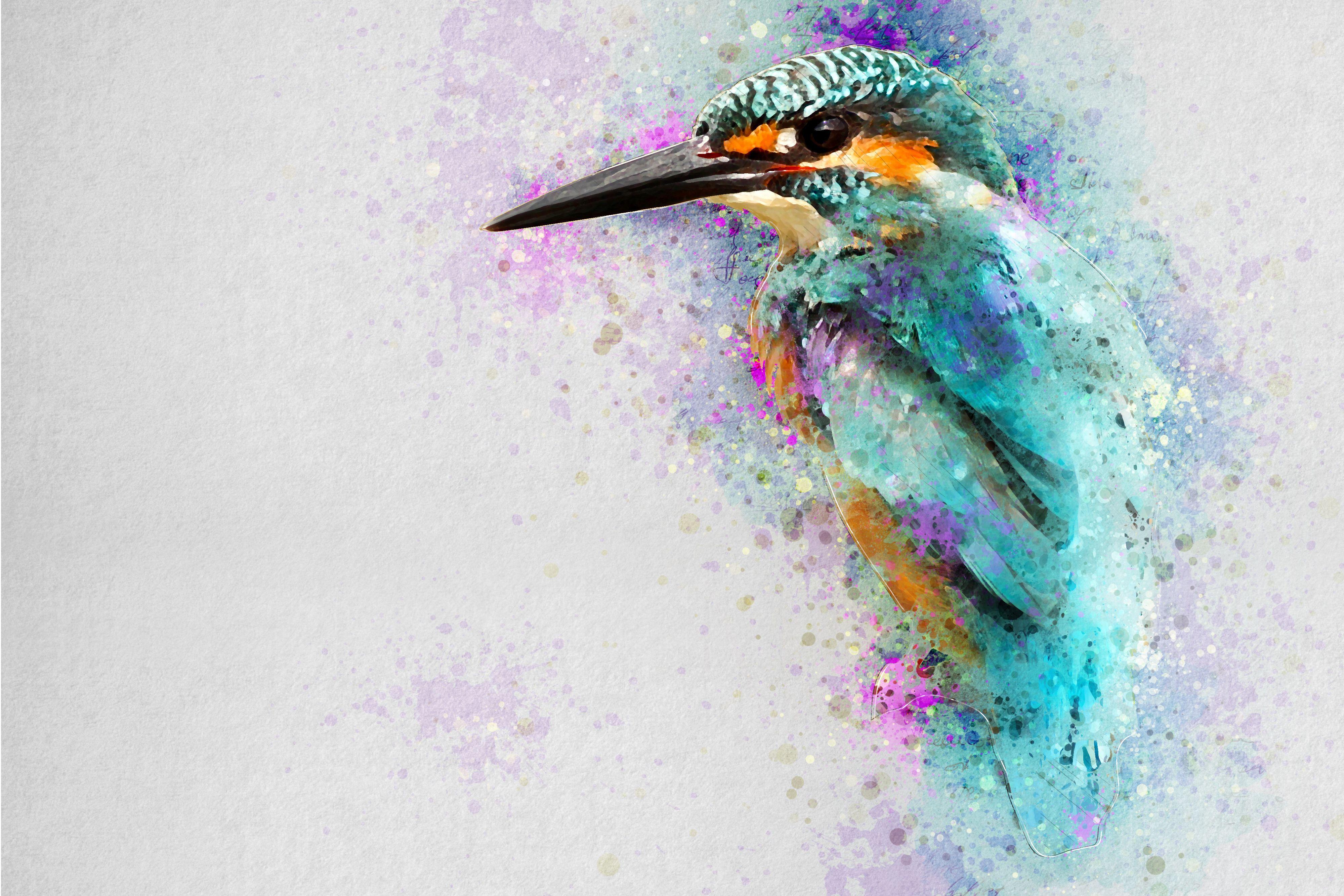 Aquarelle Photoshop Action Watercolor Photoshop Action