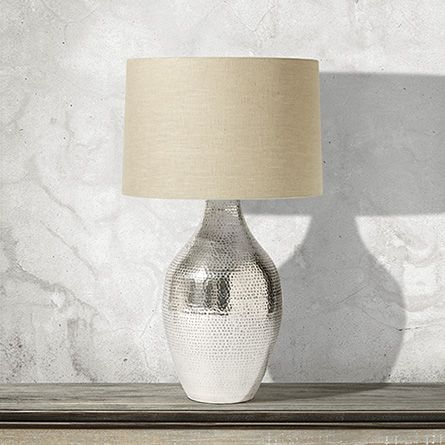 Pali Large Table Lamp With Natural Shade Large Table Lamps Table Lamp Glass Table Lamp