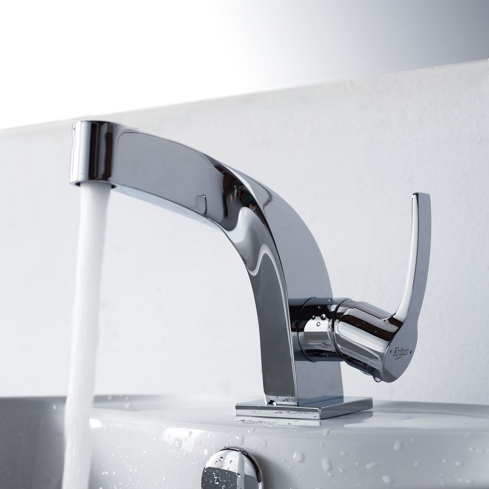 Kraus typhon single lever basinch faucet flow rate gpm psi