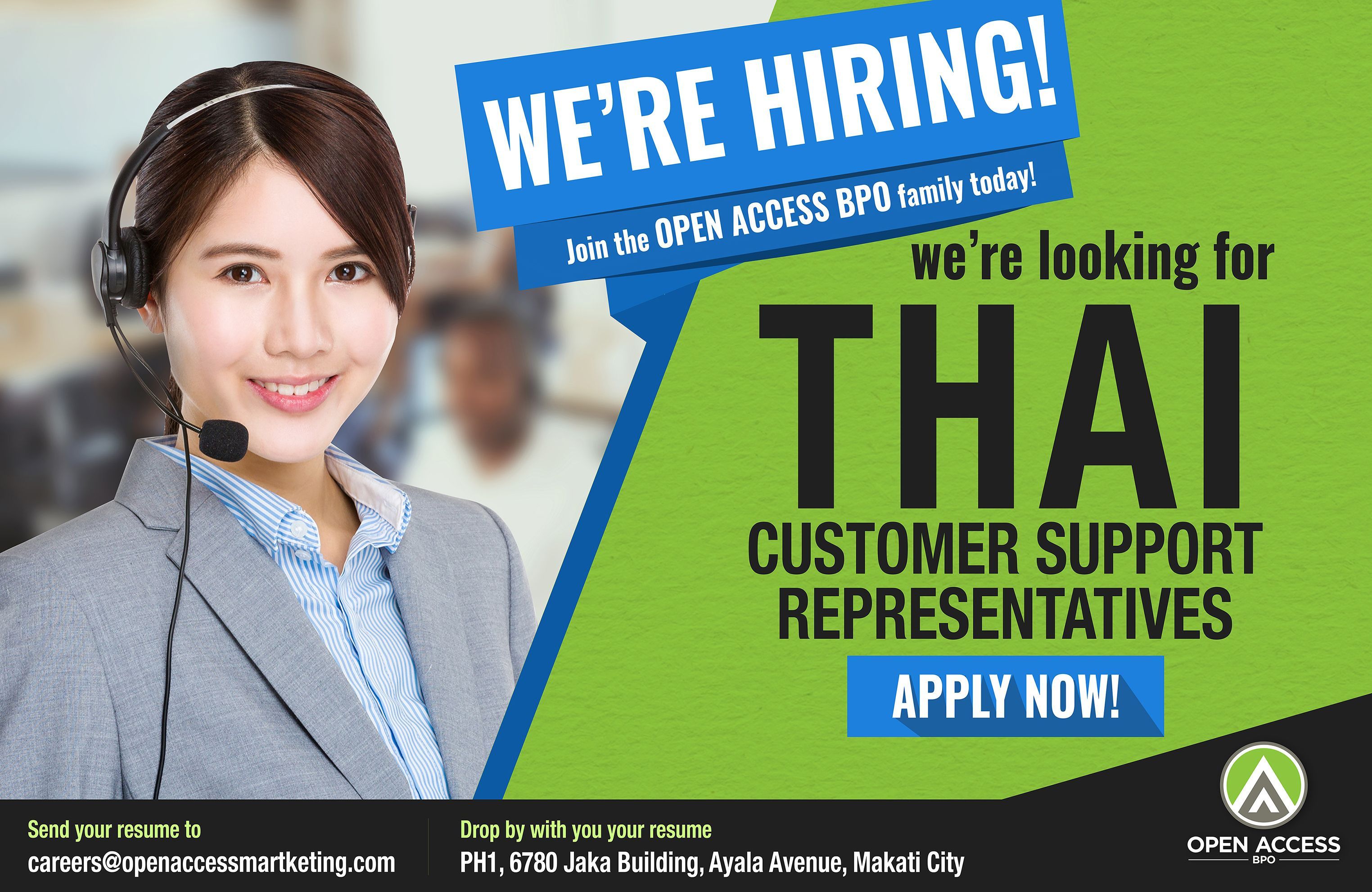 We Re Hiring Thai Callcenter Agents For One Of Our Fastest
