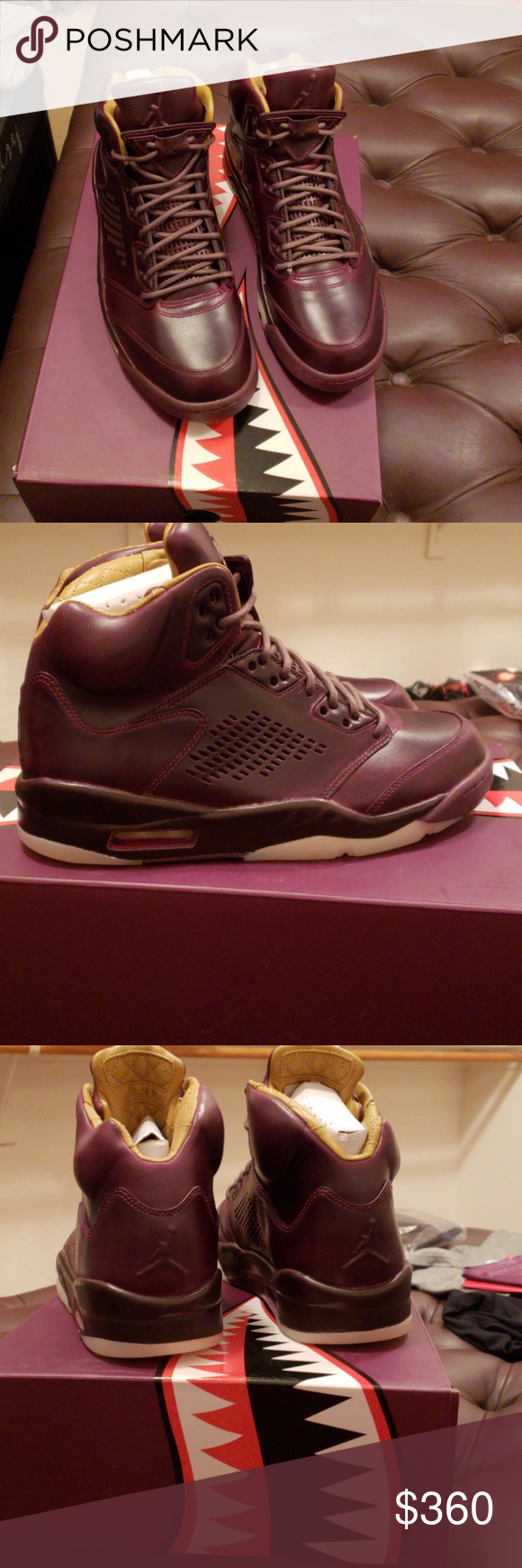 1402b75f961 Air Jordan 5 Retro Prem Brand new with box and dust bag Air Jordan 5 Retro  Premium. Purple with peanut quilted leather insides. Jordan Shoes Sneakers