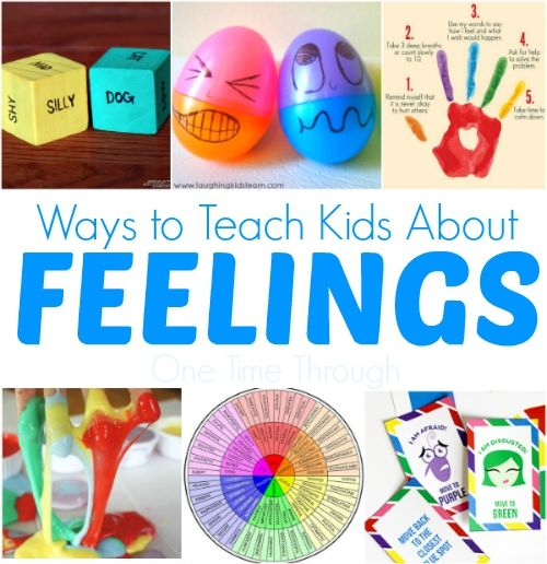 Best parent resources to teach kids about feelings for Emotion art projects