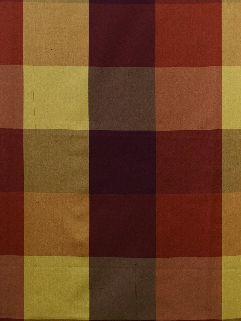 3112 B #check-plaid-stripe #red-pink-purple #silk #woven-fabrics #yellow-gold
