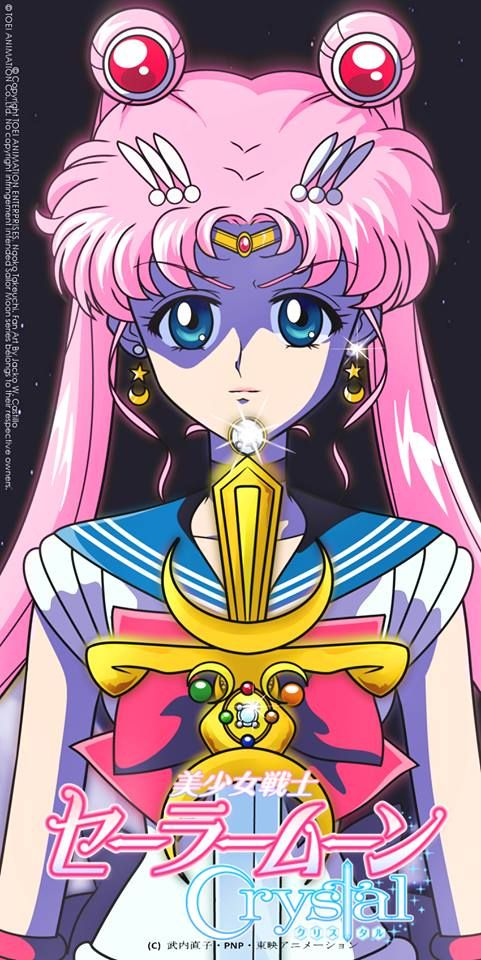 Smc Usagi With Pink Hair Sailor Moon Crystal Sailor Moon Character Sailor Moon Fan Art