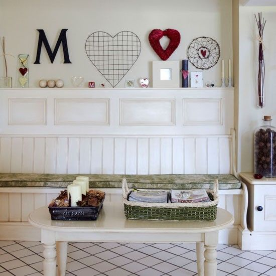 Country Cottage In Cheshire Kitchen Bench