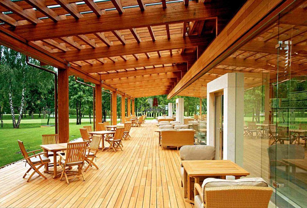 Терраса или веранда пристроенная к дому - 100 лучших идей ...
