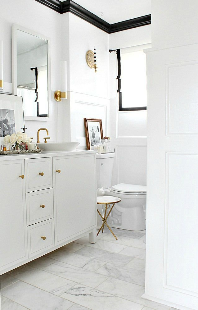 10 Tips to Give Your Bathroom High End Style | Dazzling ...