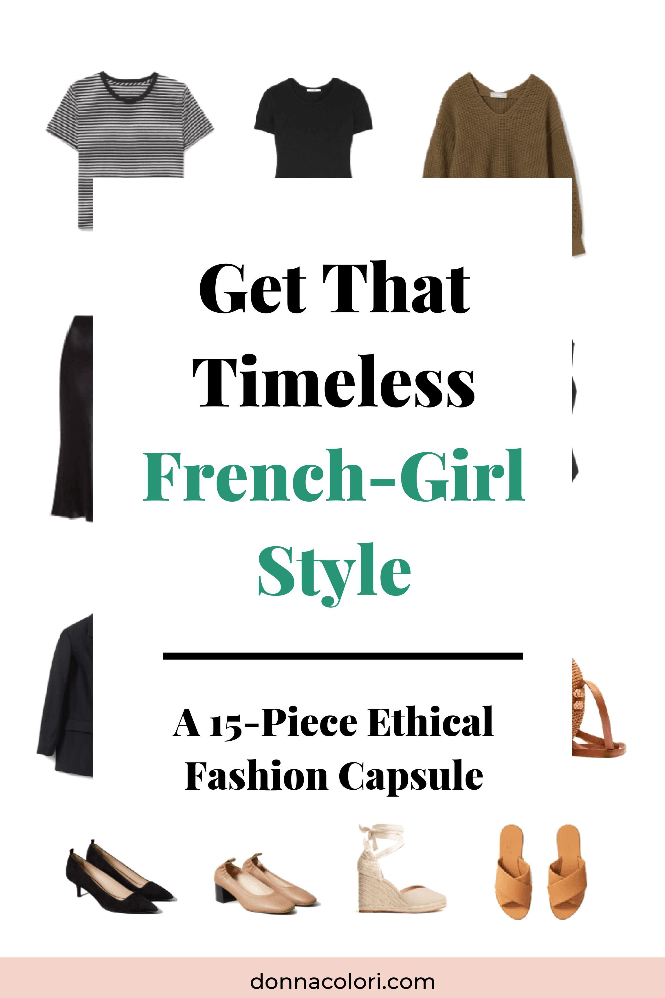 Get That Timeless French-Girl Style – A 15-Piece Ethical Fashion Capsule - Nicole Salgado