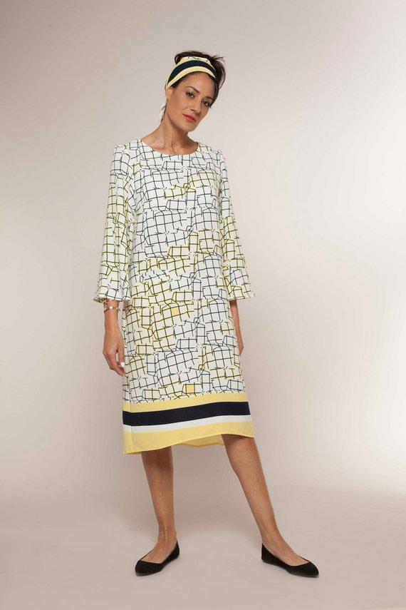 Sale Womens Gift Trapeze Dress Pattern Tunic Dress Pattern Plus