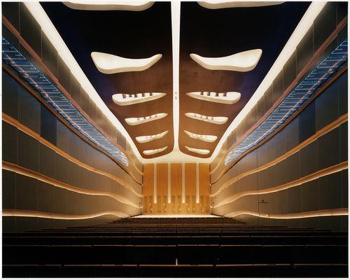 "Hakuju Hall ""Classical Music Concert Hall"" in Tokyo, Japan by Albert Abut."