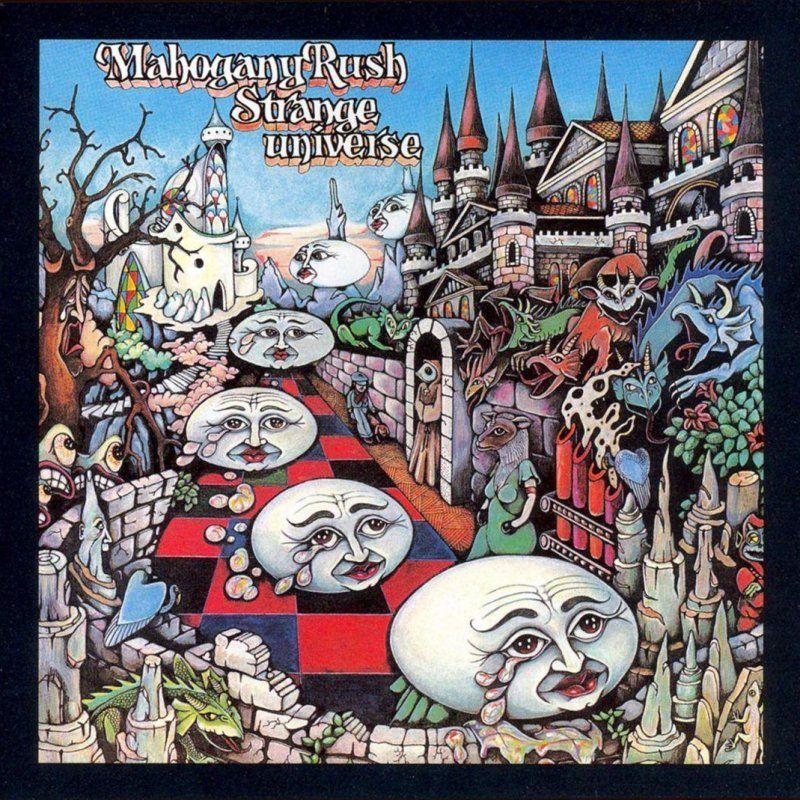 Mahogany Rush Strange Universe 1975 Music Cover Art