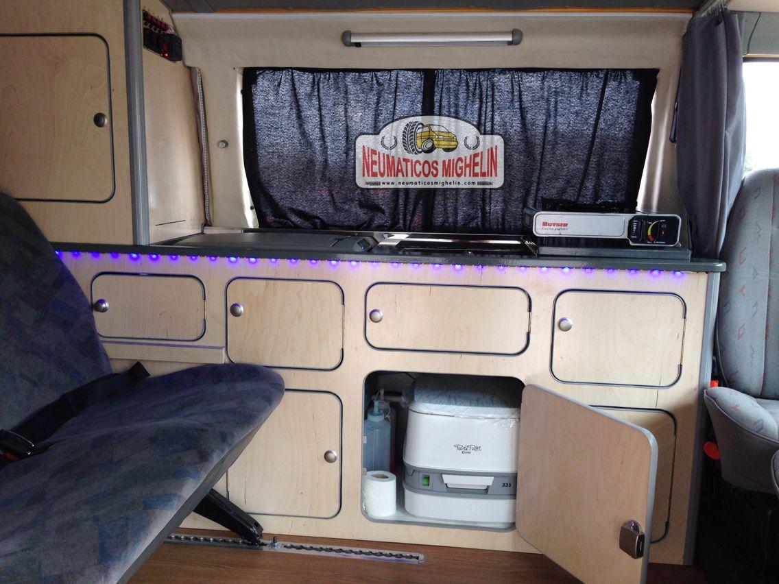 Neumaticos Mighelin Mueble Vw T4 Transporter Camperizaciones  # Muebles Westfalia