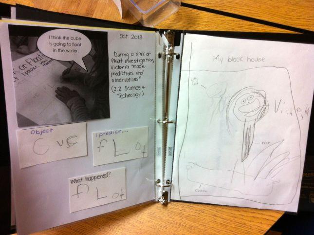 Our Portfolios With Images Kindergarten Portfolio