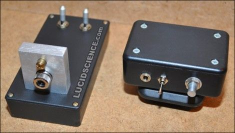 Here's a surprisly simple way to build yourself a laser-based listening device. It consists of two modules, a transmitter and a receiver. The transmitter is a set of lasers, one is visible red for aim...