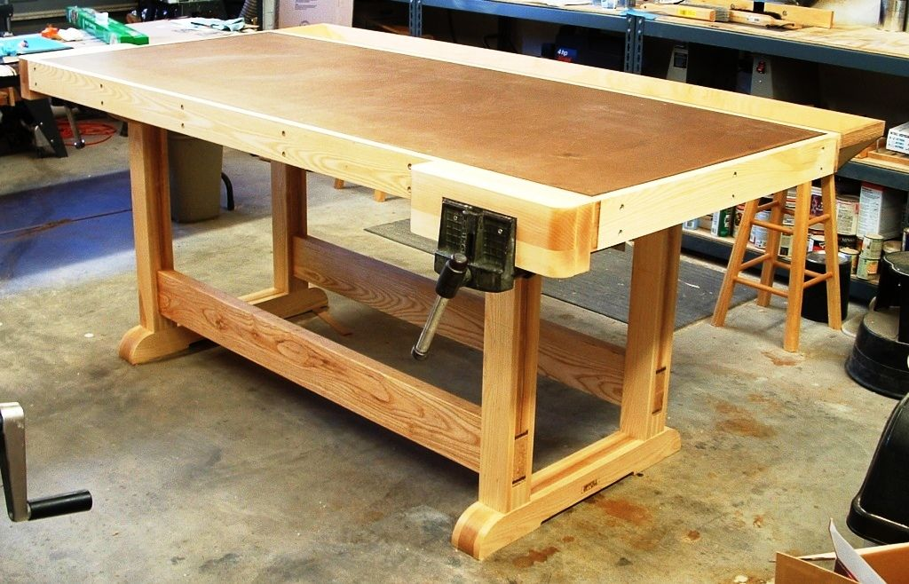 Awesome workbench! Workbench, Workbench plans, Woodworking